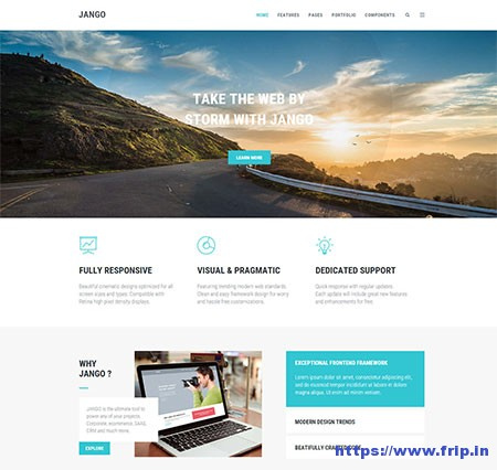 Jango-Multi-Purpose-HTML5-Template