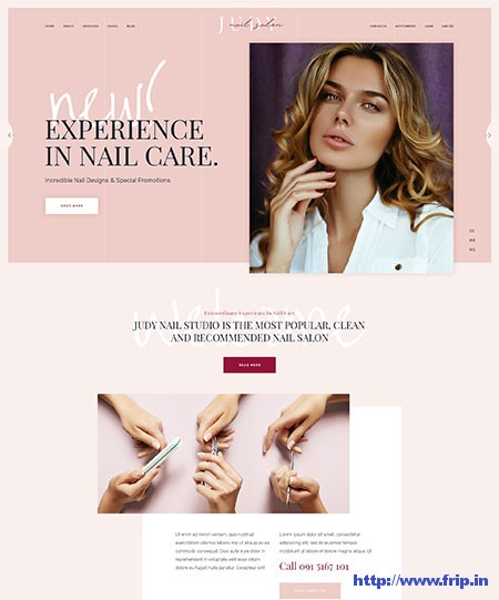 Jude-Beauty-Salon-WordPress-Theme