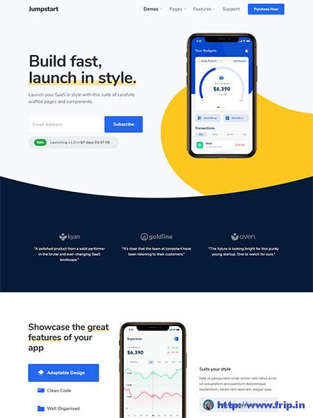 JumpStart-App-WordPress-Themes