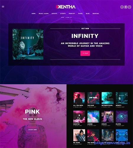 Kentha-Music-WordPress-Theme