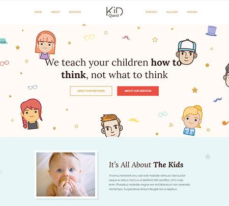 Kid-Quest-Kids-WordPress-Template