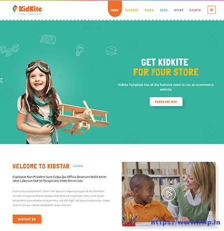 KidKite-Multipurpose-Website-Template