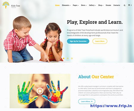 Kids-Tree-Website-Template