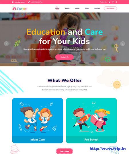 Kidzo-Kids-HTML-Template