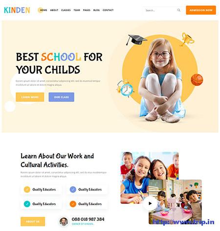 Kinden-Kindergarten-Template