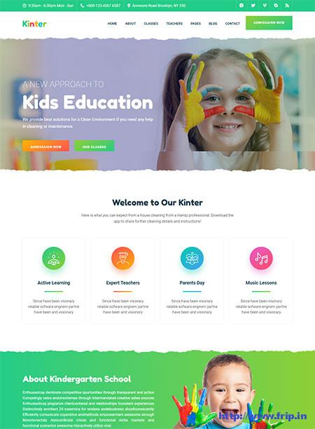 Kinter-Kindergarten-School-Template
