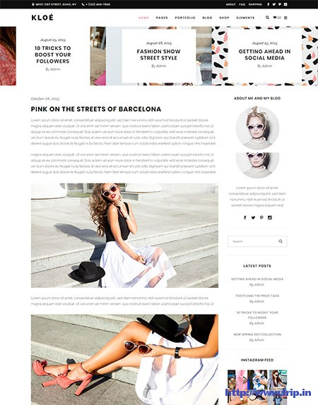 Kloe-Fashion-&-Blogging-WordPress-Theme