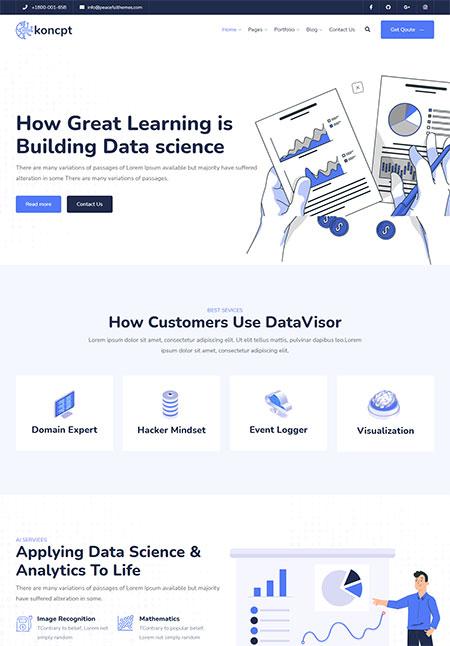 Koncpt-Data-Science-&-Analytics-WordPress-Theme