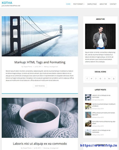 Kotha-WordPress-Blog-Theme