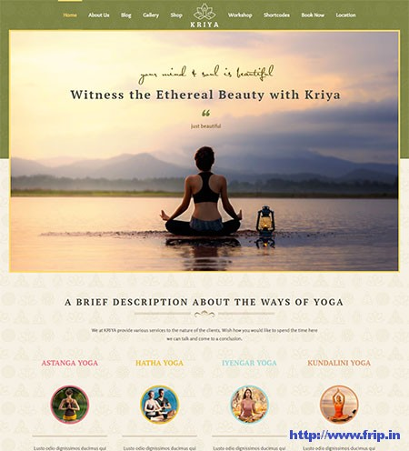 Kriya-Yoga-WordPress-Theme