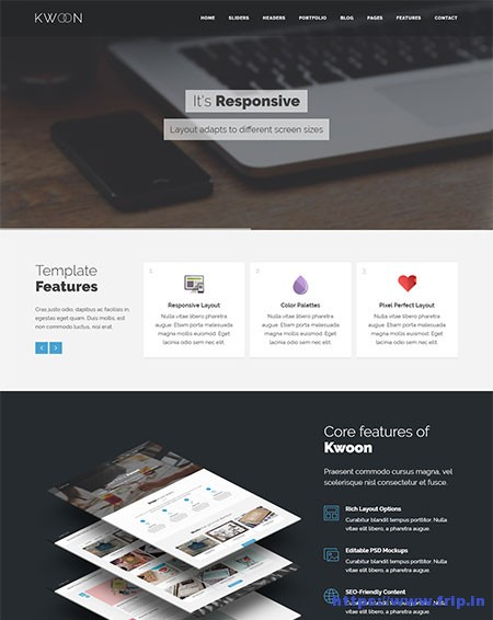 Kwoon-Multi-Purpose-Website-Template