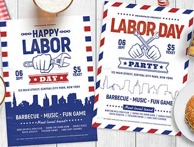 Labor-Day-Flyer-Templates
