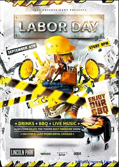 Labor-Day-Party-Flyer-Vol-4