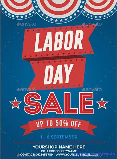 Labor-Day-Sale-Flyer-Poster