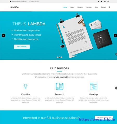 Lambda-Multi-Purpose-Bootstrap-HTML-Template
