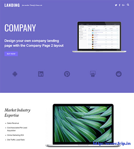 Landing-Page-WordPress-Theme