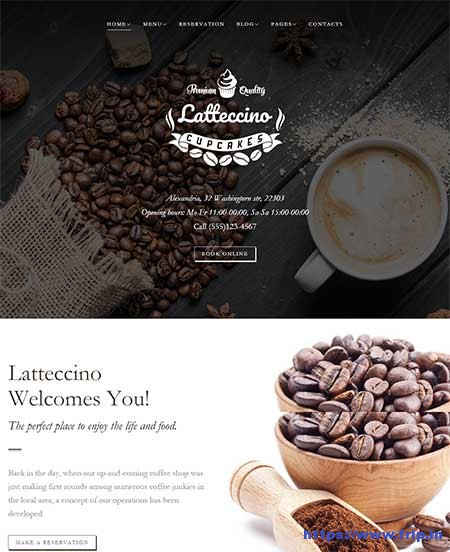 coffee shop wordpress themes