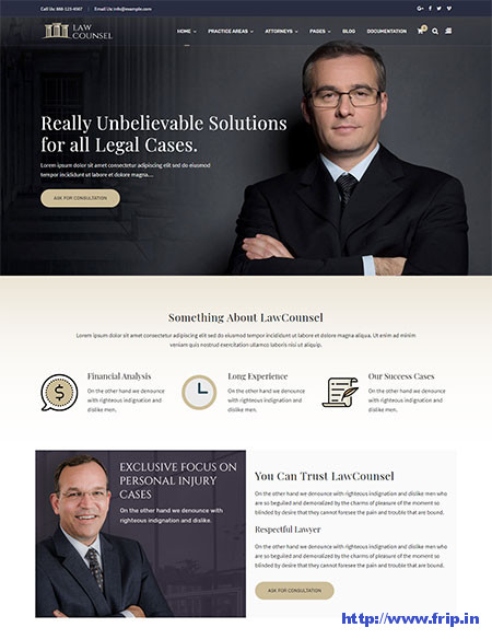 LawCounsel-Lawyer-WordPress-Theme