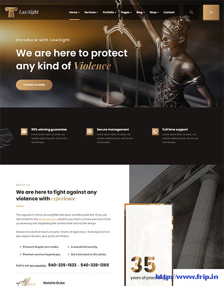 Lawsight-Law-Business-WordPress-Theme