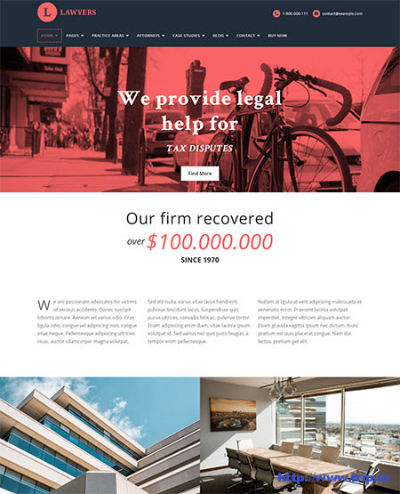 Lawyers-Law-Firm-WordPress-Theme