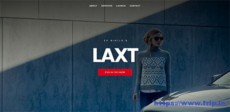 Laxt-Coming-Soon-Template