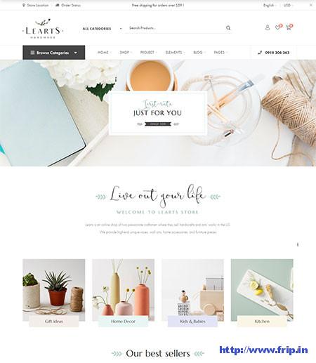 LeArts-Handmade-WordPress-Theme