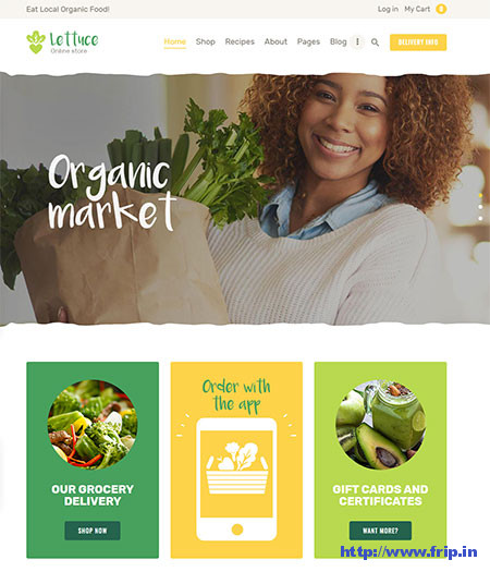 Lettuce-Organic-Food-WordPress-Theme