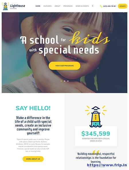 Lighthouse-School-WordPress-Theme