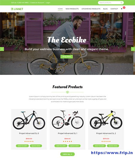 Linnet-Multipurpose-Website-Template