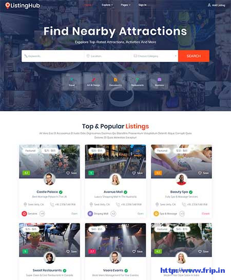 Listing-Hub-Directory-HTML-Template