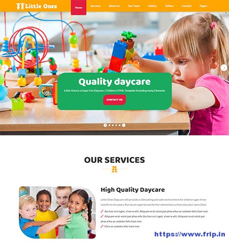 Little-Ones-Children-HTML5-Template