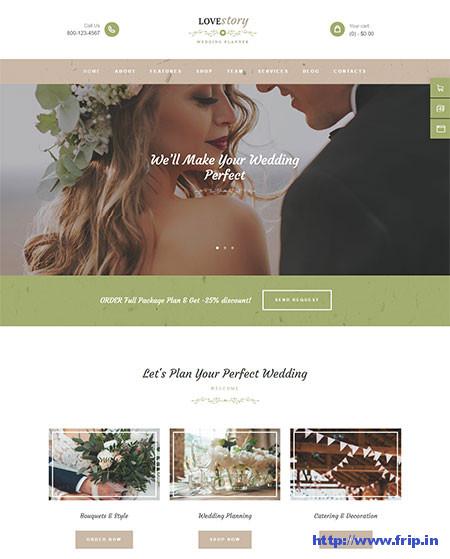 Love-Story-Wedding-Planner-Theme