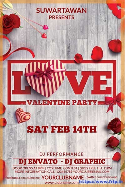 Love-Valentine-Party