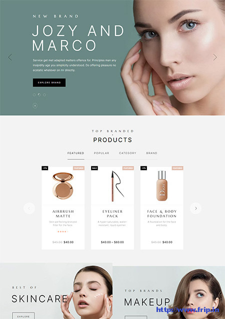 Luchiana-Cosmetics-Shop-Theme