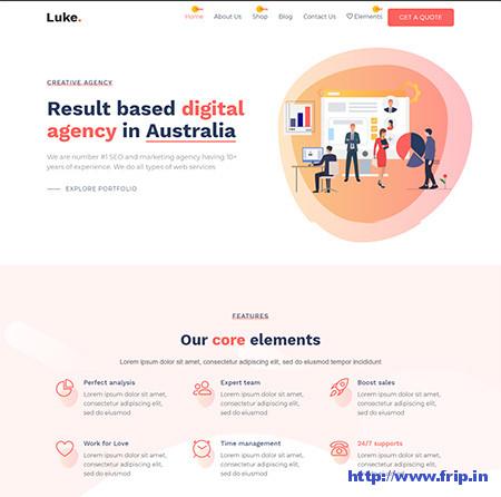 Luke-Digital-Marketing-Theme