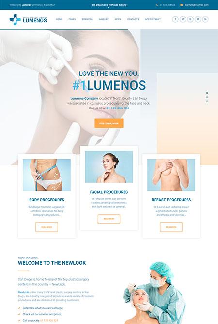 Lumenos-Plastic-Surgery-Clinic-WordPress-Theme