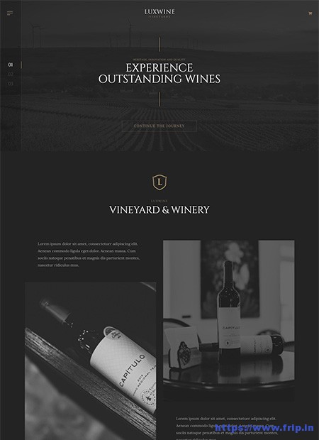 wine wordpress themes