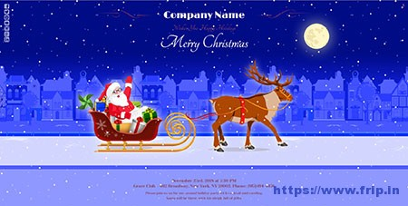 Magic-Christmas-Card-With-Animation-Plugin