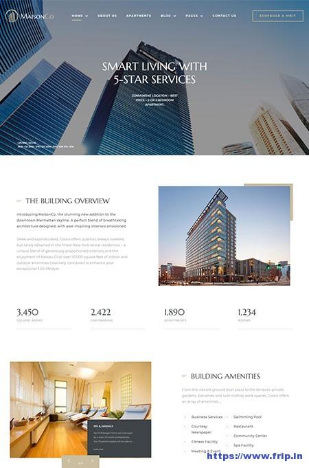 Maison-Co-Single-Property-WordPress-Theme