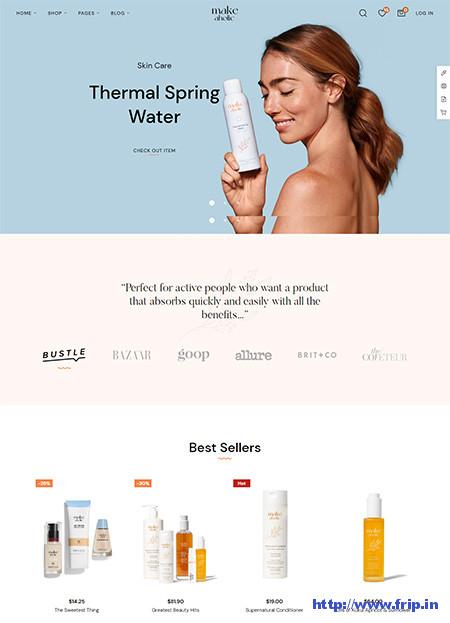 Makeaholic-Beauty-Cosmetics-WordPress-Theme