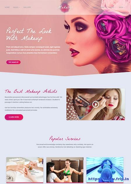 Makeup-Makeup-&-Beauty-WordPress-Theme