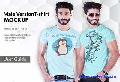 Male-T-Shirt-Mockup