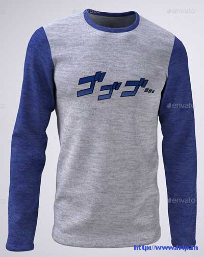 Mans-Long-Sleeve-T-Shirt-Mockup