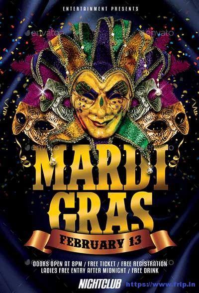 Mardi-Gras-Carnival-Flyer