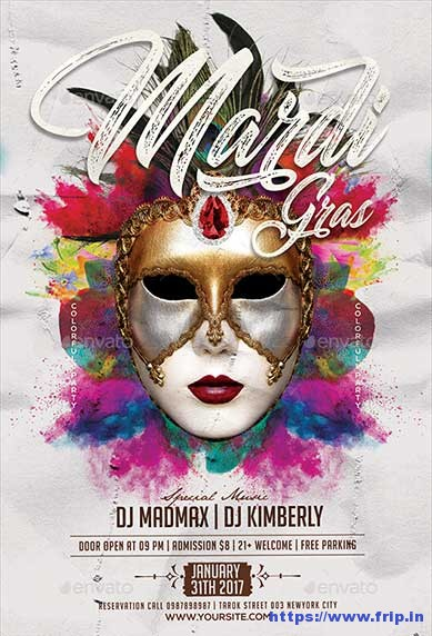 Mardi-Gras-Colorfull-Flyer