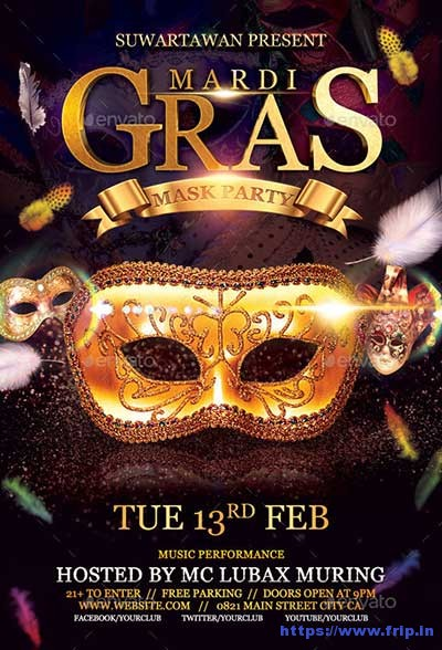 Mardi-Gras-Mask-Party