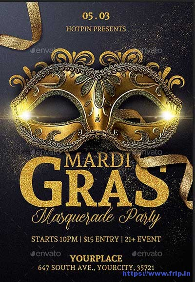 Mardi-Gras-Party-Flyers