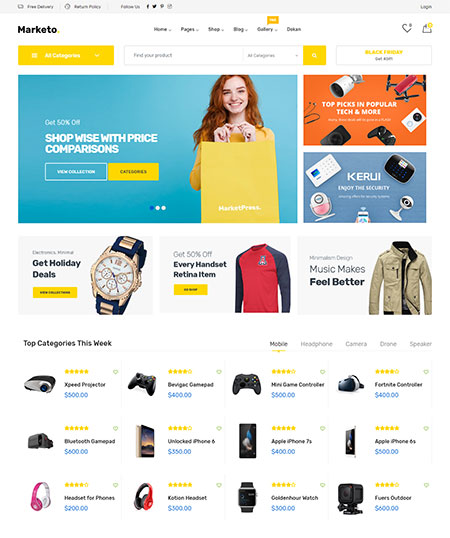 Marketo-Marketplace-WordPress-Theme