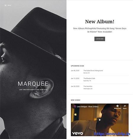 Marquee-Music-WordPress-Theme