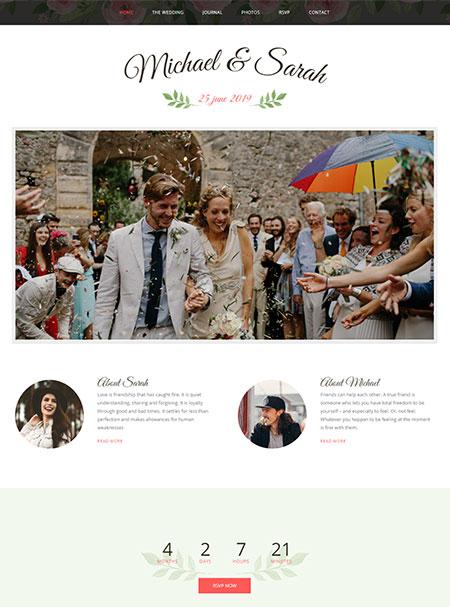 Marriage-Responsive-Wedding-Theme